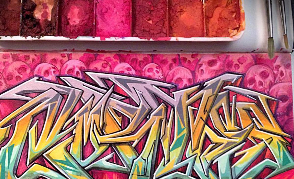 Premium Blackbook Artistry Graffiti